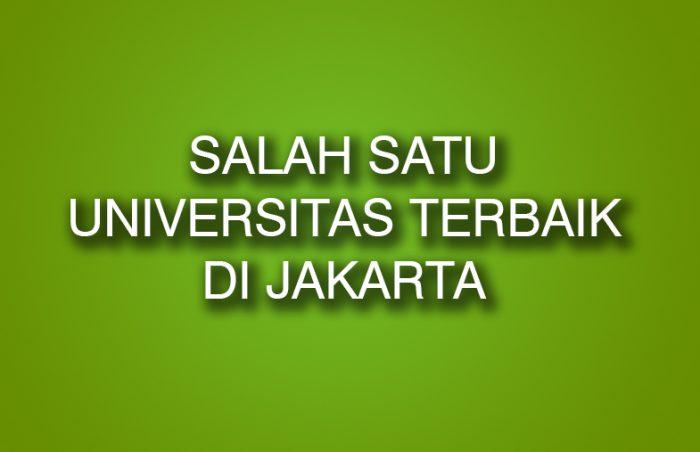Universitas Terbaik di Jakarta Dengan Visi & Misi Mendunia 1