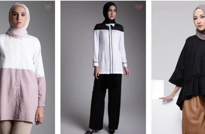 Trend Model Kemeja Panjang untuk Perempuan Muslimah